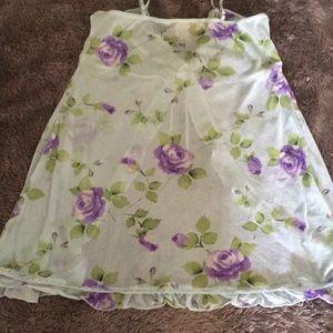 Victoria's Secret Intimates & Sleepwear - VS OPEN FRONT BABYDOLL